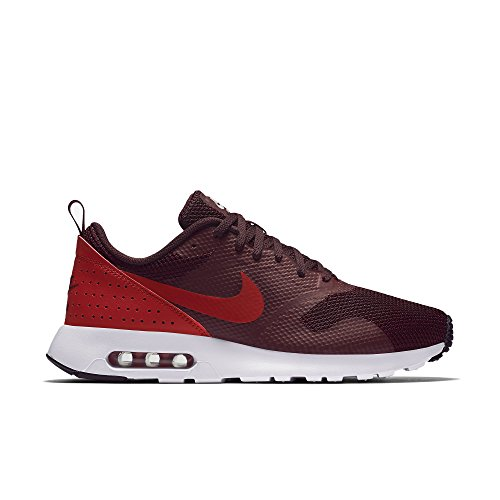Nike Men's Air Max Tavas Running Shoes Maroon/Red/Black 9.5 M US