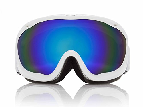 (Sol Alpine Dawn Patrol winter bike goggles w/Revo Blue)