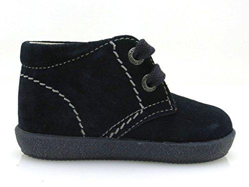 Naturino 233 Fal001200640101 - Sandalias deportivas de terciopelo para niño Azul