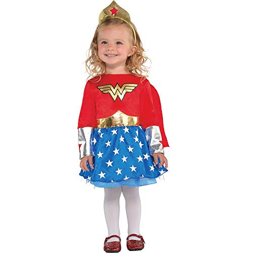 Suit Yourself Wonder Woman Halloween Costume for Babies, 6-12 M, Includes