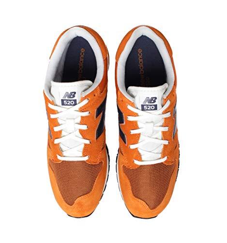 Orange Lifestyle U520 Balance Cj Naranja Zapatilla New ITYpwqZ