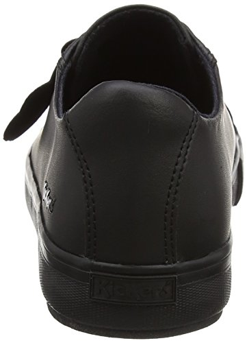 Leather Sneakers Black Tovni Kickers Lacer Px5O4v