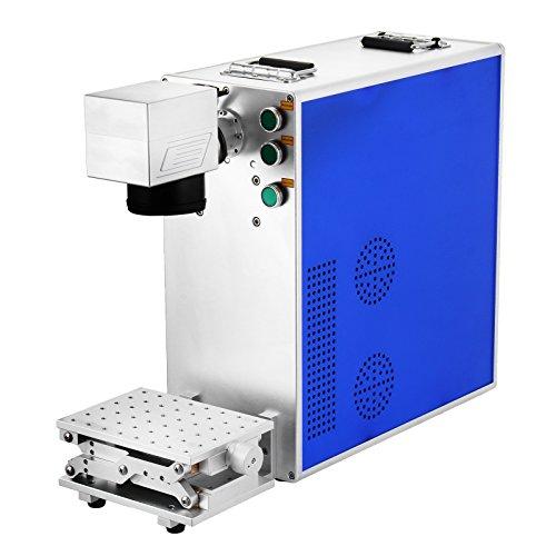 VEVOR Marking Engraving Etching Machine 20W Fiber Laser Marking Machine 110x110mm Fiber Laser Engraver Tool (20W)