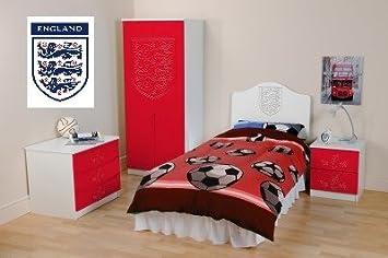 Angleterre Ensemble Complet De Meubles De Chambre Armoire Commode