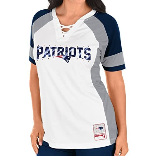 outlet New England Patriots Women s Majestic NFL