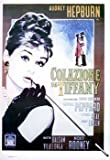 Breakfast at Tiffanys Audrey Hepburn Italian Promo Huge Vintage PAPER Movie Poster Measures 40 x 27 Inches (100 x 70 cm ) approx