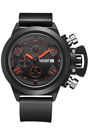 Military Sports Casual Chronograph Watches