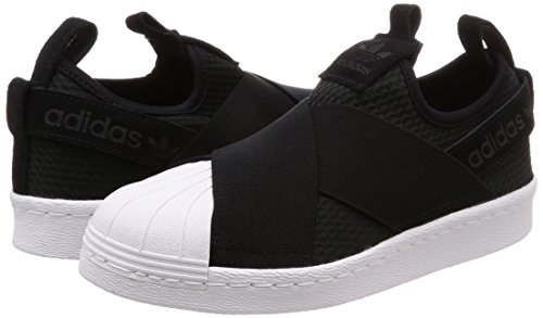 ftwr Femme Black Noir Adidas core Black core Gymnastique De White W Chaussures Superstar On Slip 7w7qTfO0