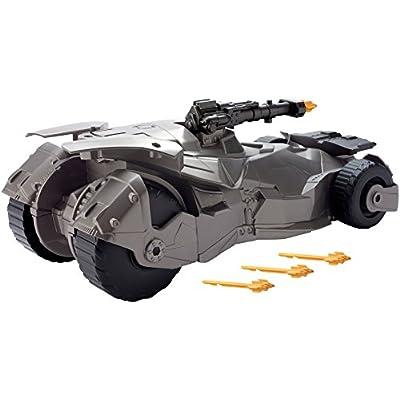 Mega Justice League Cannon Batmobile Vehicle: Toys & Games