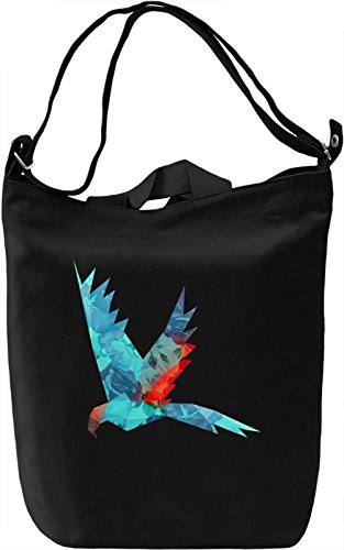 Colourful Parrot Borsa Giornaliera Canvas Canvas Day Bag| 100% Premium Cotton Canvas| DTG Printing|
