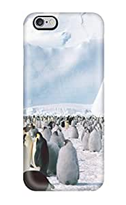 Hot Fashion UACDfvr5560mrhXK Design Case Cover For Iphone 6 Plus Protective Case (emperor Penguins Antarctica)