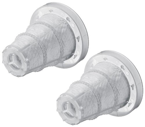 Black & Decker CHV1218/CHV1568 Vac VF08 Filter (2 Pack) for Dustbuster Vacs # - Dust Parts Black