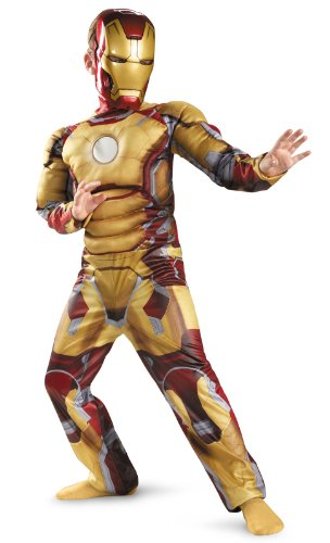 Disguise Marvel Iron Man 3 Mark 42 Boys Classic Muscle Costume