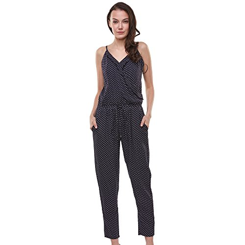 Glostory Womens Jumpsuits Sleeveless Backless Casual Jumpsuits Rompers 1067