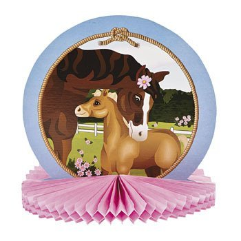 Price comparison product image Mare & Foal Tissue Centerpiece - Party Tableware & Table Decorations