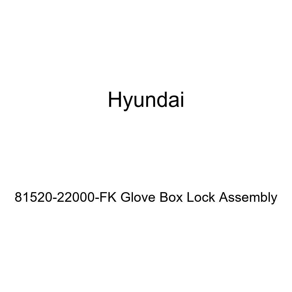 Genuine Hyundai 81520-22000-FK Glove Box Lock Assembly