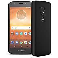 Motorola Moto E5 Play, XT19216PP, 5.2-inch LCD, 16GB, Unlocked, Android 8.0 Oreo, Retail Packaging (Black) - with Fingerprint Reader