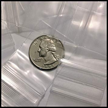 Amazon.com: 12515 Original Mini Ziplock 2,5 mil Bolsas de ...