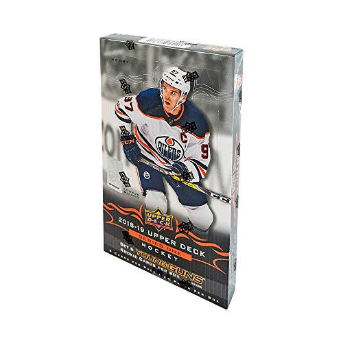 2018-19 Upper Deck Series 1 Hockey Hobby Box -