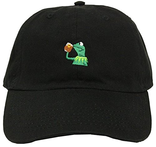 Adjustable Womens Cap (Kermit The Frog
