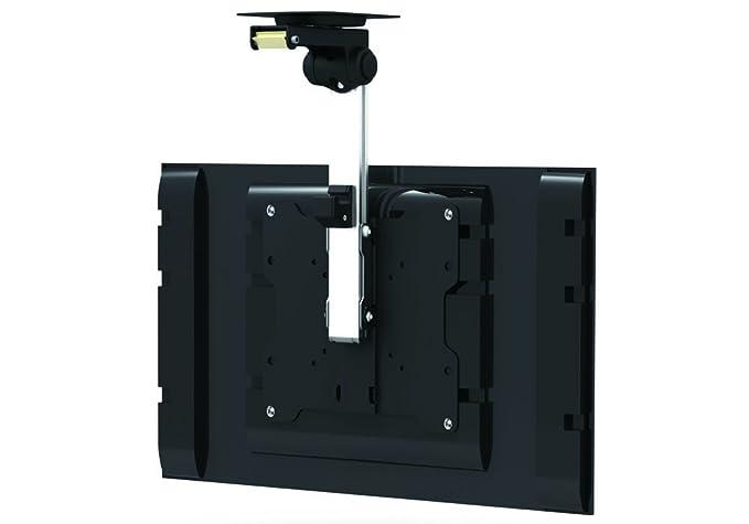 Soporte abatible y giratorio para montaje en techo o bajo armarios para televisores LCD y LED de 17