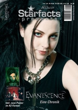 Starfacts presents: Evanescence + 2 Poster im A2-Format