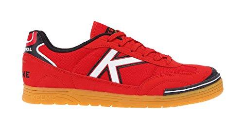 Kelme Unisexe Adulte Trueno Chaussures De Football, Sala Bleu Rouge (rojo 130)