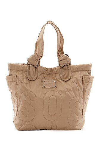 Marc by Marc Jacobs Pretty nylon lil tate short shoulder tote in cement by Marc Jacobs