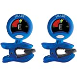 Snark SN-1 Headstock Guitar Tuner Bundle x2