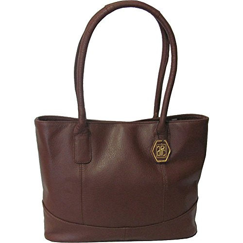 Amerileather Leather Tote (AmeriLeather Casual Leather Tote (Brown))