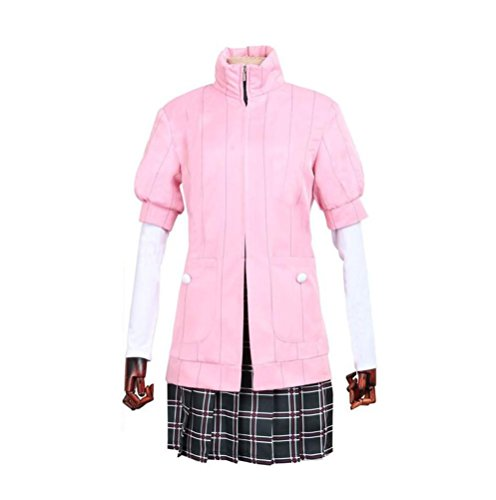DOUJIONG CosplayJapanese Amime Persona5 Haru Okumura Girls Uniform Full Set Costume (M, Girls)