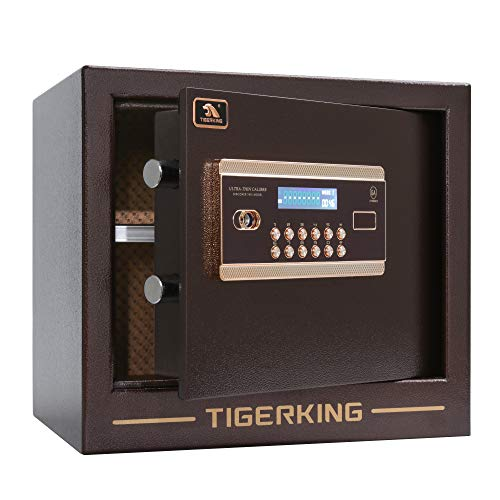 Digital Safe Box, Safe for Home, Tigerking -1 Cubic Feet