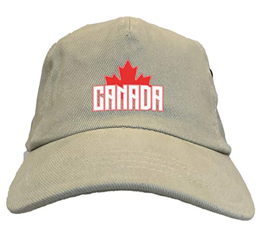 Canada with Maple Leaf - Canadian Dad Hat ()