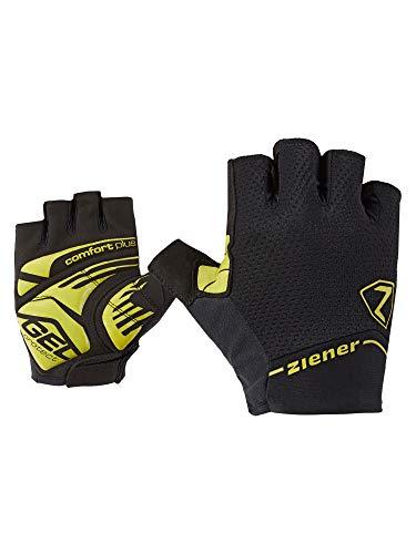 Ziener Cafar Fahrrad, Mountainbike, Radsport-Handschuhe | Kurzfinger-Atmungsaktiv/dämpfend/rutschfest