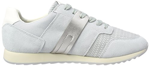 Geox Women D Deynna D Low-Top Sneakers Grey (Azure C4004) gVoU4