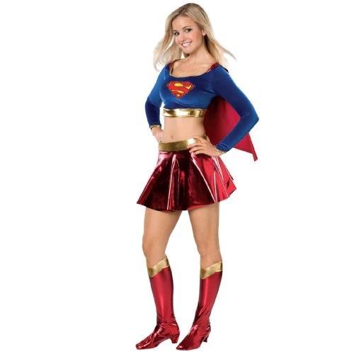 Supergirl Costume - Teen (Supergirl Crop Top)