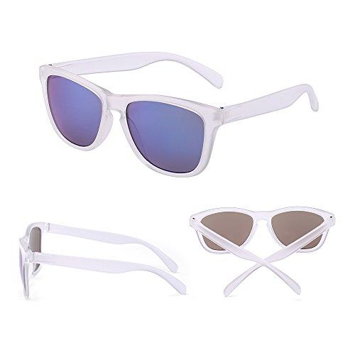 à Soleil Paires 12 Miroir Transparent Partie de Hommes Solaire Bleu pour Style Femmes Lunette Lunettes Rétro Miroir qOxXwSR5T