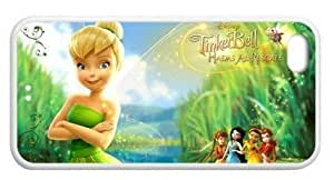 MMZ DIY PHONE CASEDecent Seller Peter Pan stories Tinker Bell Iphone5C TPU Case Cover