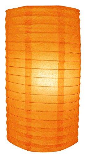 PaperLanternStorecom-8-Orange-Cylinder-Paper-Lantern