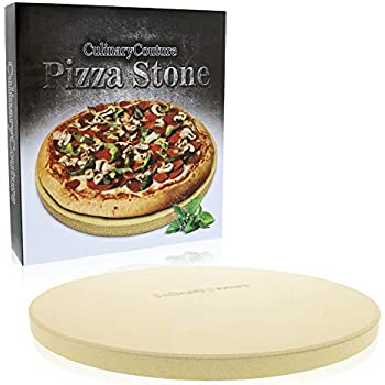 Pizza Stone for Grill and Oven - 15 Inch 3/4