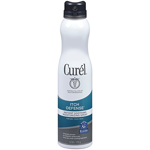 - Curel Itch Defense Soothing Moisturizing Spray, 6 Ounce