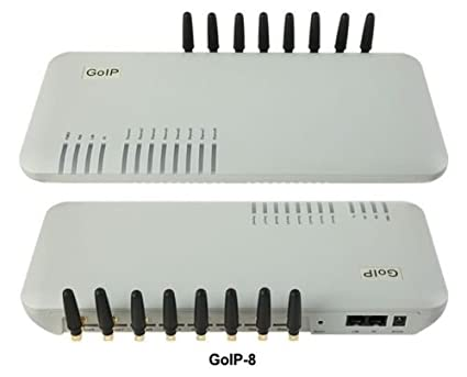 Amazon com : Anysun DBL Goip-8 GSM Voip Gateway Ip PBX