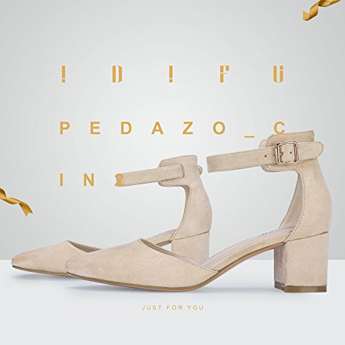 Buy suede ankle strap