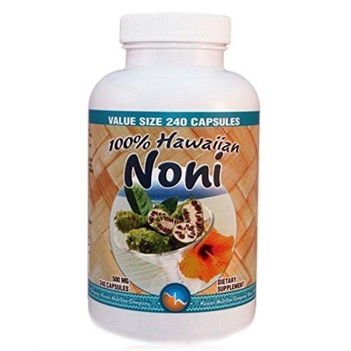 【お徳用サイズ】Hawaii Nutrition Company - Noni Capsules - 240cp(120日分) ハワイアンノニ ~ハワイ直送品~ B00965IF7A
