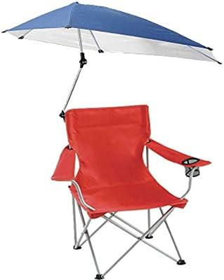 LJ&XJ Sombra Silla de Camping, Aire Libre Portátil Plegable Silla ...