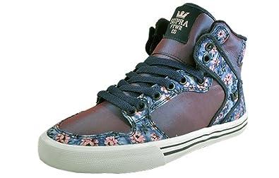 Supra SW28021 - Zapatillas Altas de Lona Mujer 35.5 EU: Amazon.es: Zapatos y complementos