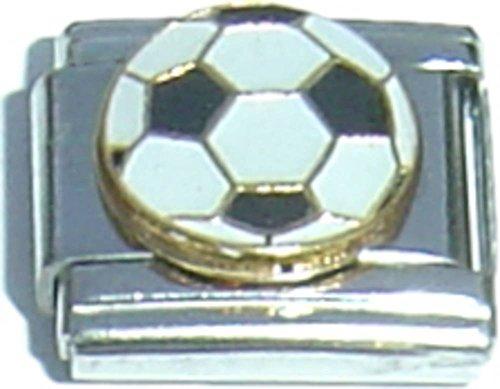 Soccer Ball Italian Charm (Soccer Ball Gold Italian)
