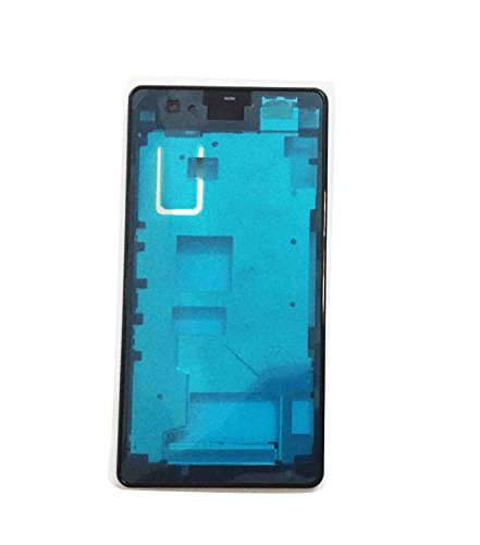 Front Middle Frame Bezel Battery Back housing Cover For Sony Xperia Z1 Compact mini D5503 (Black)