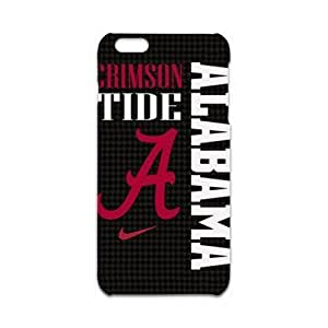 Personalized Protective Hardshell Alabama Crimson Tide Cell Phone Case Cover For Iphone 6 Plus 5.5 Inch 3d Avai Unique diy case