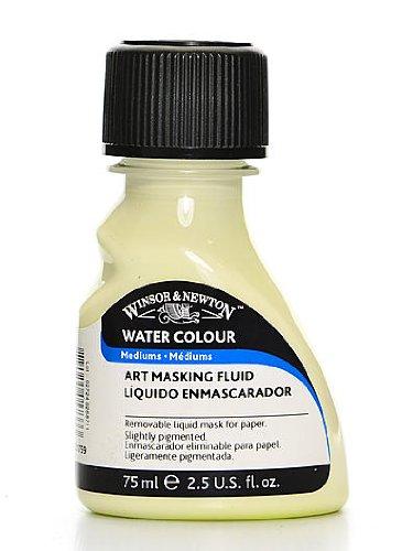 - Winsor & Newton Art Masking Fluid pale yellow 75 ml [PACK OF 2 ]